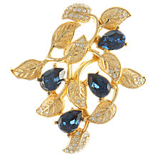 Buy Eclectica 1980s Grosse Gold Plated Branch Brooch Online at johnlewis.com