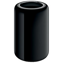 Buy Apple Mac Pro ME253B/A Desktop, Intel Xeon E5, 12GB RAM, 256GB Flash, Black Online at johnlewis.com