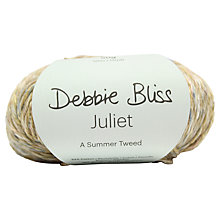 Buy Debbie Bliss Juliet A Summer Tweed Yarn, 50g, Lily 001 Online at johnlewis.com