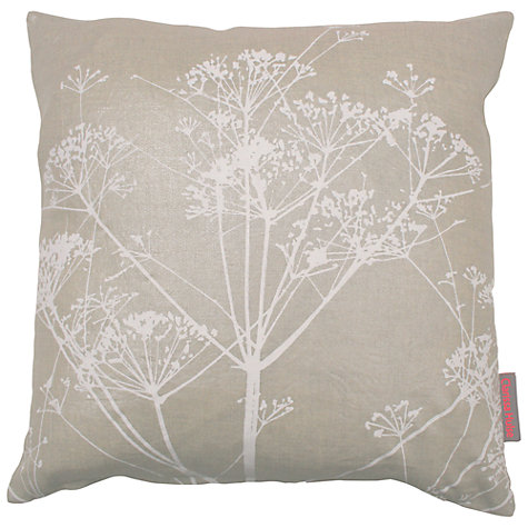 Buy Clarissa Hulse Cow Parsley Cushion Online at johnlewis.com