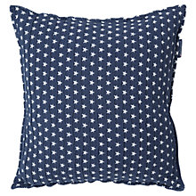 Buy Lexington Icons Authentic Star Cushion, Navy Online at johnlewis.com