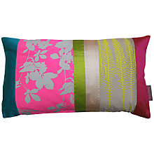 Buy Clarissa Hulse Virginia Creeper Neon Cushion Online at johnlewis.com