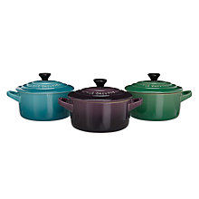 Buy Le Creuset Limited Edition Mini Casseroles, Set of 3 Online at johnlewis.com