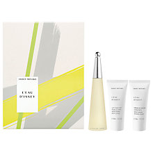 Buy Issey Miyake L'Eau D'Issey Eau de Toilette Gift Set, 50ml Online at johnlewis.com