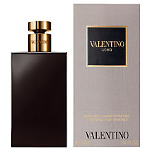 Buy Valentino Uomo After Shave Balm, 100ml Online at johnlewis.com