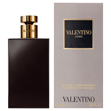 Buy Valentino Uomo Aftershave Balm, 100ml Online at johnlewis.com
