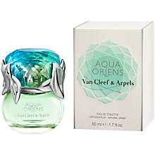 Buy Van Cleef & Arpels Aqua Oriens Eau de Toilette, 50ml Online at johnlewis.com