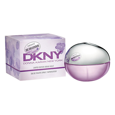 Buy DKNY City Blossom Urban Violet Eau de Parfum, 50ml Online at johnlewis.com