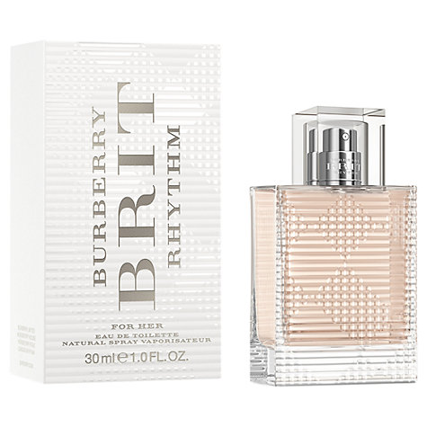 Buy Burberry Brit Rhythm Women's Eau de Toilette Online at johnlewis.com