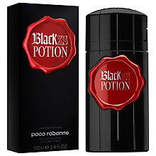 Buy Paco Rabanne Black XS Potion for Her  Eau de Toilette, 50ml Online at johnlewis.com