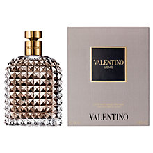 Buy Valentino Uomo Aftershave Lotion, 100ml Online at johnlewis.com