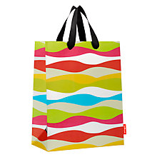 Buy French Bull Kiss Wavy Stripe Gift Bag, Medium Online at johnlewis.com