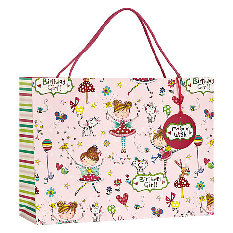 Buy Rachel Ellen Birthday Girl Shopper Online at johnlewis.com
