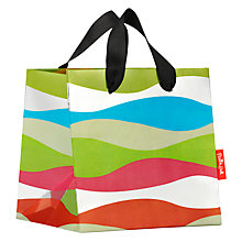 Buy French Bull Kiss Wavy Stripe Gift Bag, Small Online at johnlewis.com