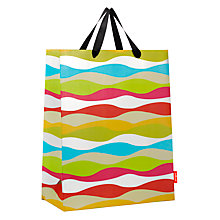 Buy French Bull Kiss Wavy Stripe Gift Bag, Large Online at johnlewis.com