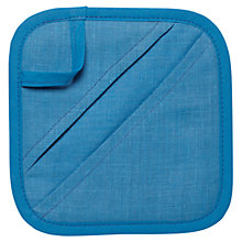 Buy Sophie Conran Pot Holder, Blue Online at johnlewis.com