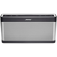 Buy Bose® SoundLink® III wireless mobile speaker Online at johnlewis.com
