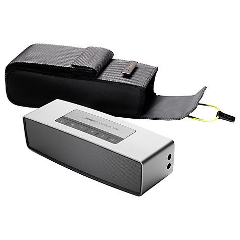 Buy Bose® SoundLink® Mini Travel Bag, Grey Online at johnlewis.com