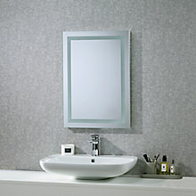 Buy Roper Rhodes Encore Illuminated Led Bathroom Mirror with Integrated Stereo Online at johnlewis.com