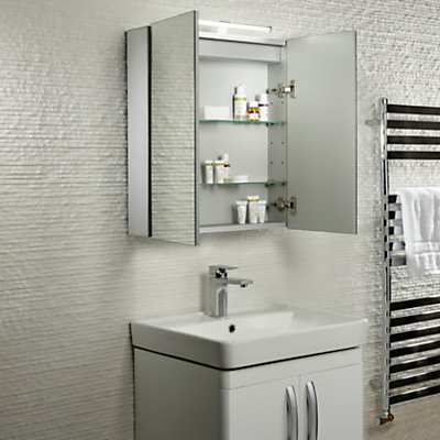 Roper Rhodes Conduct Illuminated Double Bathroom Cabinet