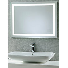 Buy Roper Rhodes Beat Illuminated Led Bathroom Mirror with Integrated Stereo Online at johnlewis.com