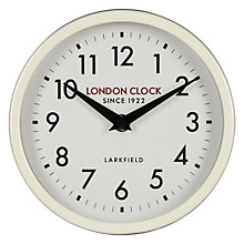 Buy London Clock Horwich Wall Clock Online at johnlewis.com