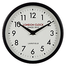 Buy London Clock 1922 Horwich Wall Clock Online at johnlewis.com