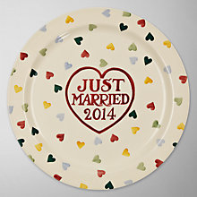 Buy Emma Bridgewater Just Married Cake Plate Online at johnlewis.com