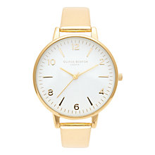 Buy Olivia Burton Women's Metallic Leather Strap Watch Online at johnlewis.com