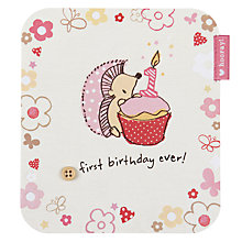 Buy Hotch Potch First Ever Birthday Card Online at johnlewis.com