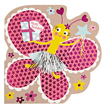 Buy Hotch Potch Butterfly Birthday Card Online at johnlewis.com
