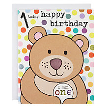 Buy Really Good 1 Today Birthday Card Online at johnlewis.com