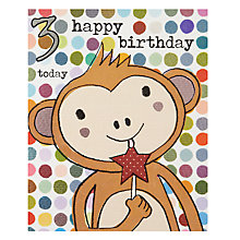 Buy Really Good 3 Today Birthday Card Online at johnlewis.com