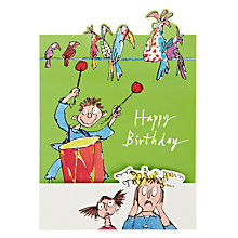 Buy Woodmansterne Boy Wth Drm Kit Birthday Card Online at johnlewis.com