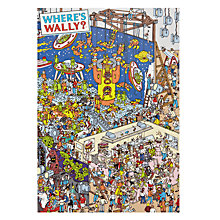 Buy Woodmansterne Wally Dinosaurs Spacemen Birthday Card Online at johnlewis.com