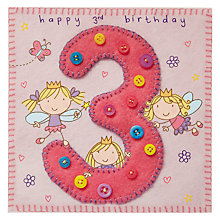 Buy Twizler Fairy 3rd Birthday Card Online at johnlewis.com