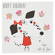 Buy Belly Button Designs Fun Birthday Card Online at johnlewis.com