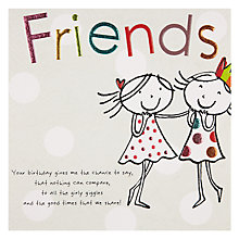 Buy Paperlink Friends Birthday Card Online at johnlewis.com