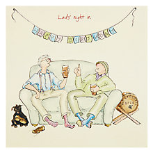 Buy Art Beat Lads' Night Birthday Card Online at johnlewis.com