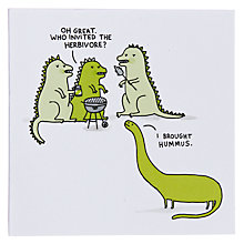 Buy Ubrand Graphic Herbivore Greeting Card Online at johnlewis.com