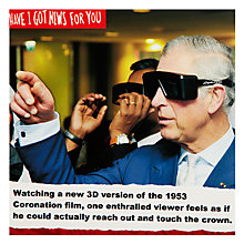 Buy Card Mix Prince Charles with Black Goggles Greeting Card Online at johnlewis.com