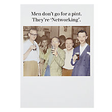 Buy Cath Tate Networking Greeting Card Online at johnlewis.com
