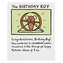 Buy Really Good Birthday Boy Birthday Card Online at johnlewis.com
