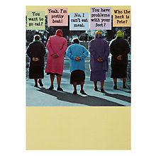 Buy Paperhouse Surrounded by Friends Birthday Card Online at johnlewis.com
