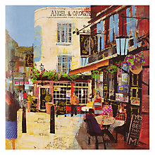 Buy Woodmansterne Socialising Outside a Pub on a Sunny Day Online at johnlewis.com