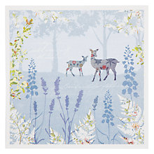 Buy Woodmansterne Ferns & Deer Greeting Card Online at johnlewis.com