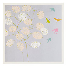 Buy Woodmansterne Honesty With Birds Greeting Card Online at johnlewis.com