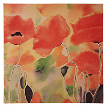 Buy Woodmansterne Red Poppies Greeting Card Online at johnlewis.com