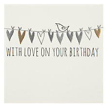 Buy Belly Button Designs With Love on your Birthday Greeting Card Online at johnlewis.com