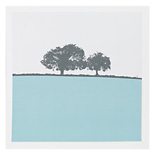 Buy The Art Rooms Landscape Square Gloucestershire Greeting Card Online at johnlewis.com
